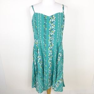 Old Navy Floral Sweetheart Sundress sz. Large